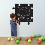 Dry erase sticker board