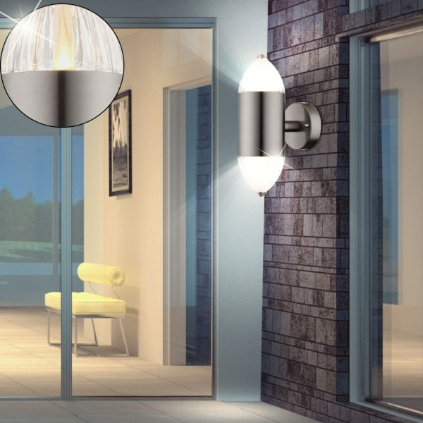 Outdoor lighting can create a sense of security and safety
