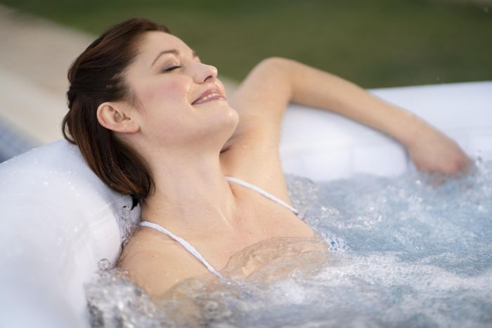 Inflatable Jacuzzis or hot tubs